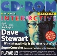 Dave Stewart – CD Rom Magazine