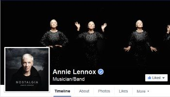 Official Website – Facebook Annie Lennox