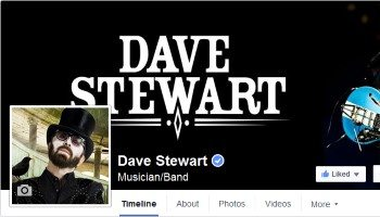 Official Website – Facebook Dave Stewart