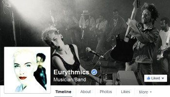 Official Website – Facebook Eurythmics